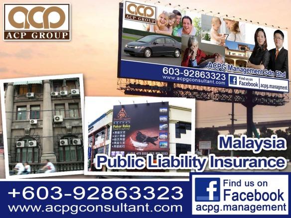 Public Liability Insurance Arranged By Acpg Management Sdn Bhd Acpg Management Sdn Bhd