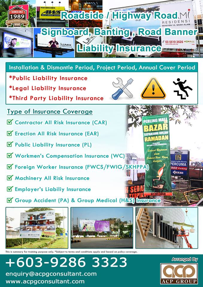 Installation Liability Insurance FB A4